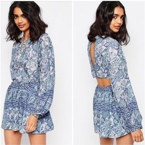 🦋2 for $25 Free People Paisley Cutout Dress